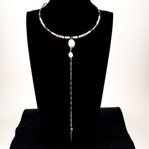 Nakamol Necklace with Long Pendant Chain